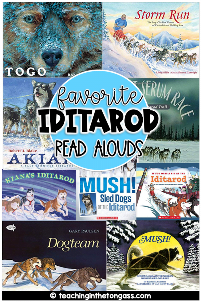 Iditarod books for kids
