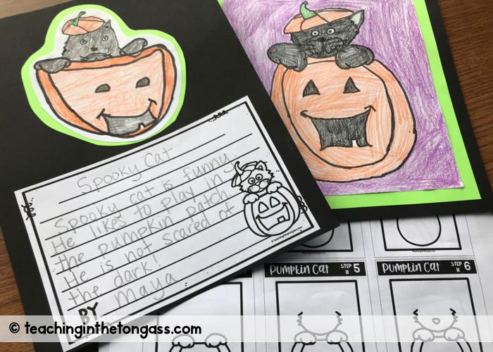 Free Halloween Directed Drawing