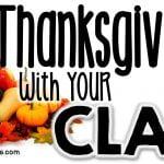 Thanksgiving Activities for School