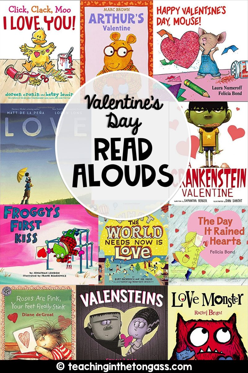 Valentine books for kids