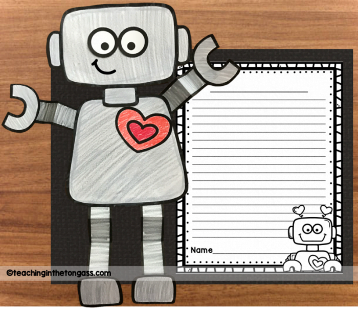love robot craft