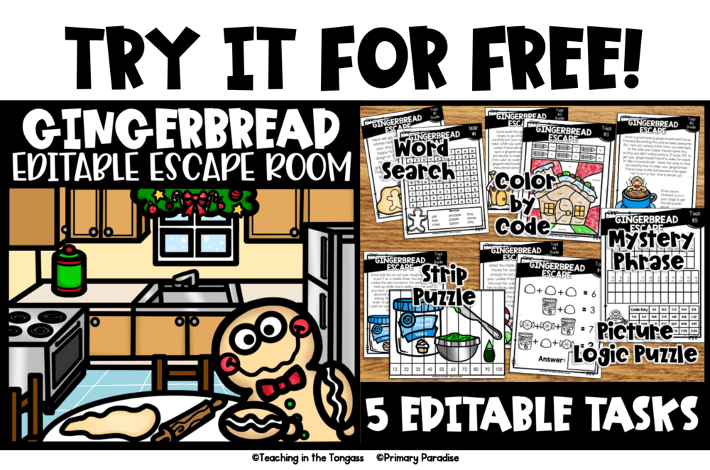free escape room for kids