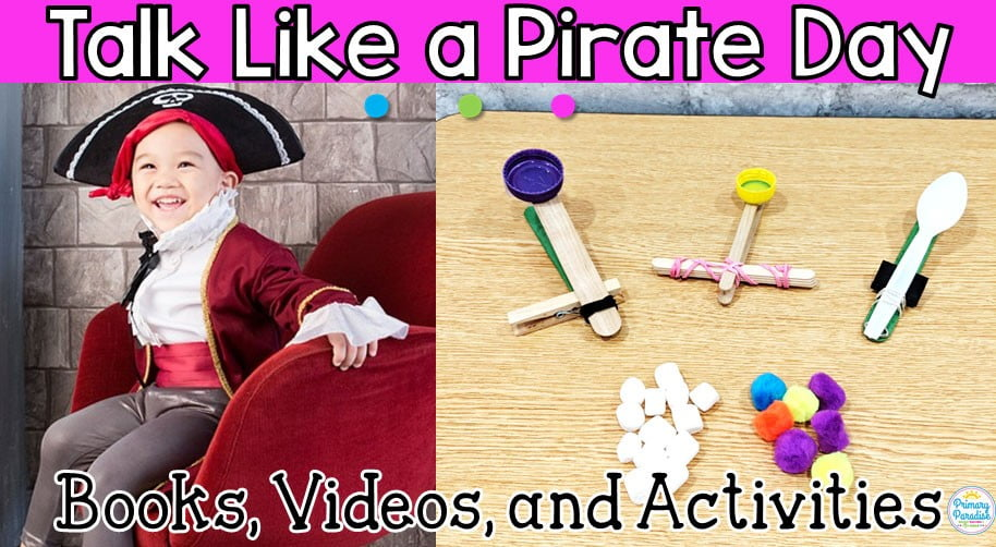 Talk Like a Pirate Day Activities