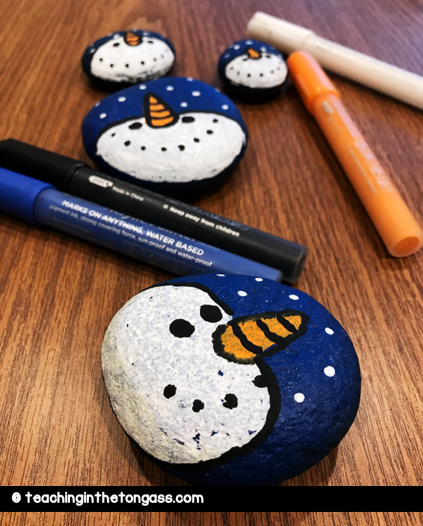 winter activities for kids snowman art
