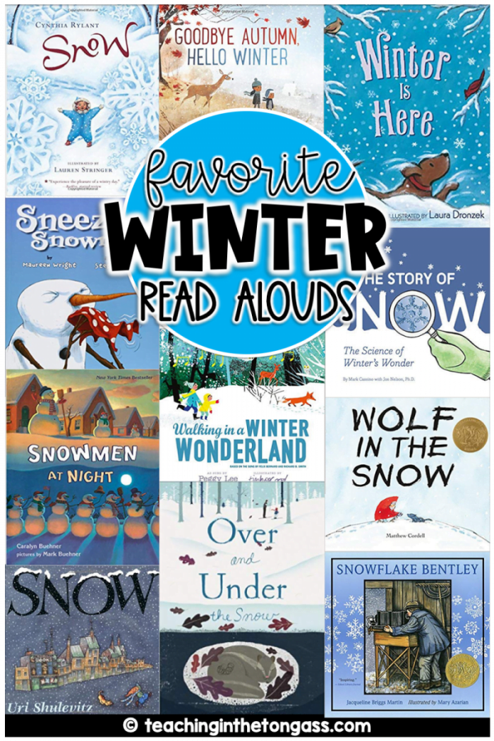 Winter Read Alouds for Kids