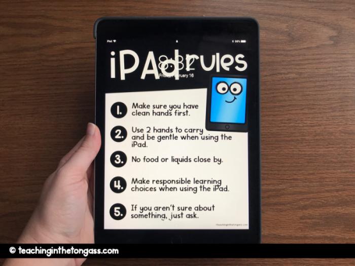 iPad rules screensaver