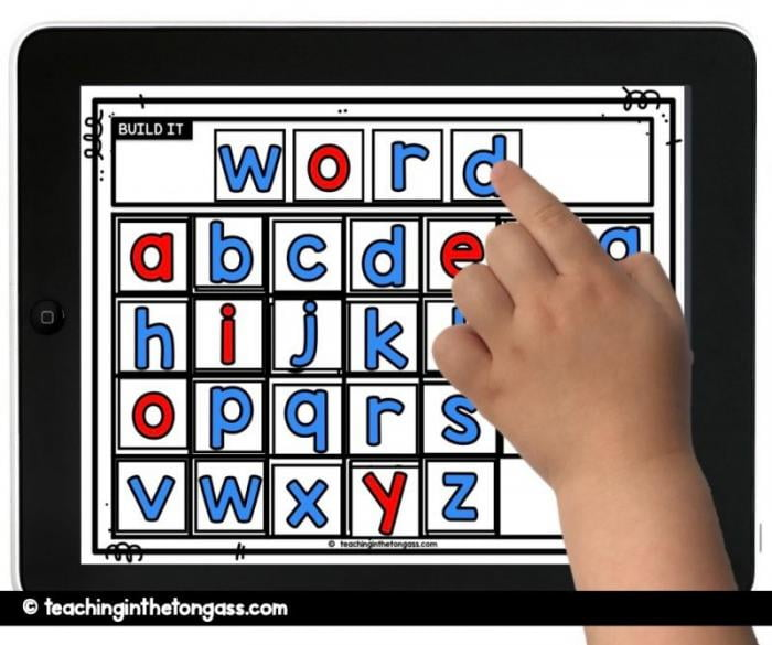 word building mat