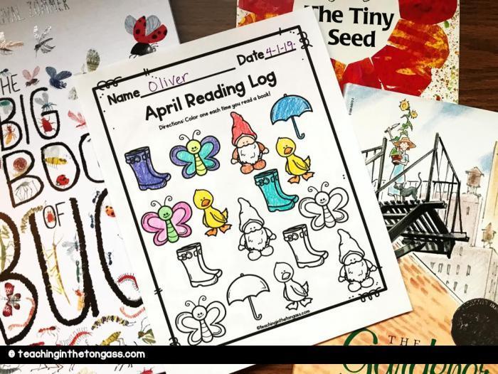 spring-reading-log-for-kids