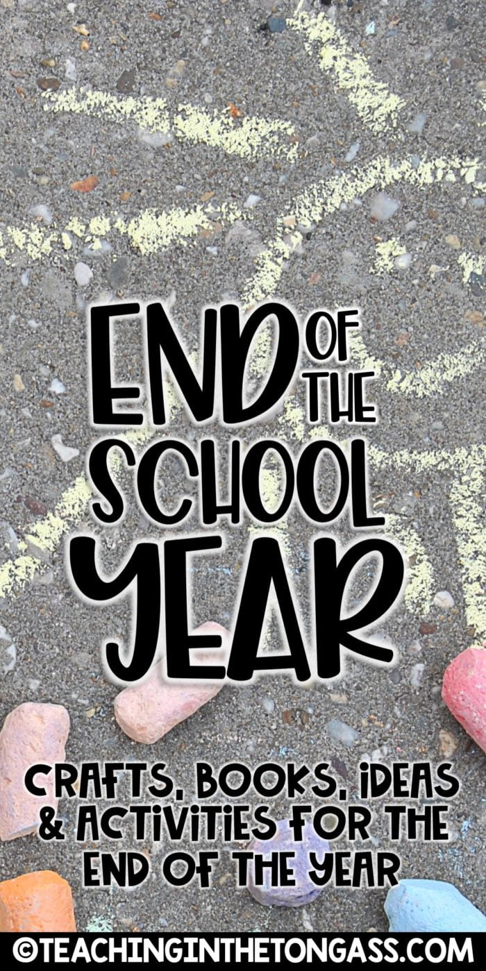 end of the year activities for school