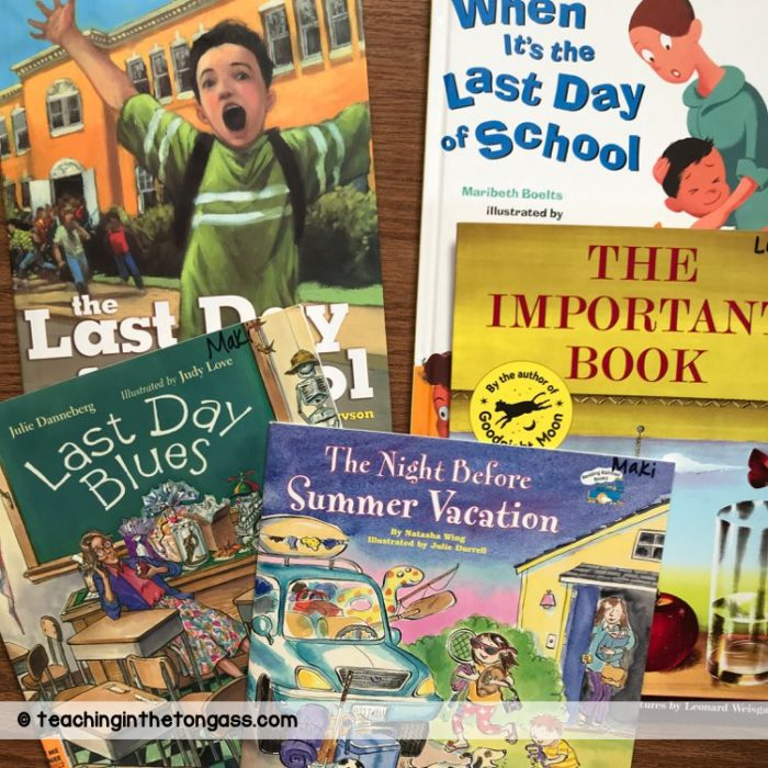end of the year books for kids